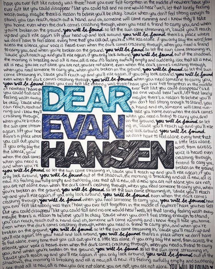 Have You Ever Felt Like Nobody Was There You Will Be Found With Images Dear Evan Hansen Dear Even Hansen Evan Hansen Tradução de you will be found (from dear evan hansen). pinterest