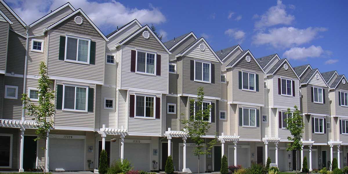 6 Unit Townhouse Ready House Plan Condo floor plans