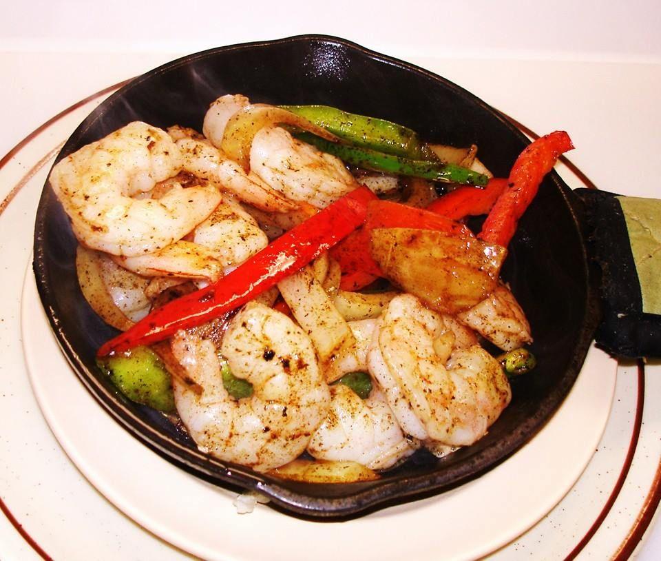 Papas shrimp fajitas mexican food recipes mexican