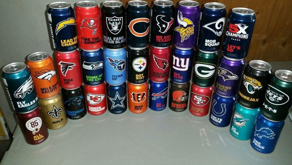 Mini Bud Light Cans