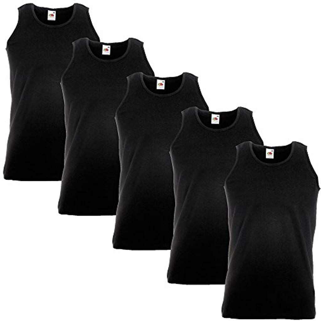 t-Shirt Fruit of the Loom Athletic Gilet t-Shirt