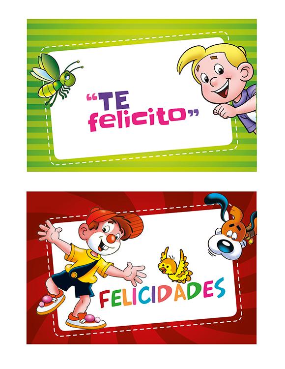 Tarjetas De Felicitaciones Mis Amigos Refuerzo Positivo Ninos Frases Para Alumnos Mensajes Para Ninos