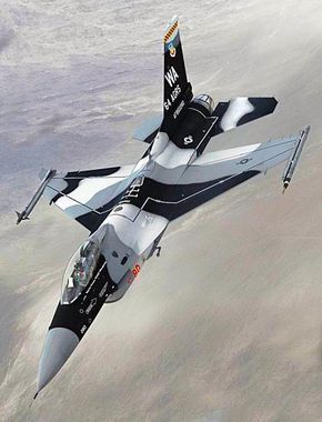 Usaf General Dynamics F 16c Falcon Of The 64th Aggressor Squadron Military Aircraft Aircraft Fighter Jets
