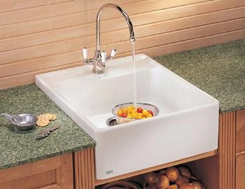 Manor House Single Fireclay Sink MHK710 24