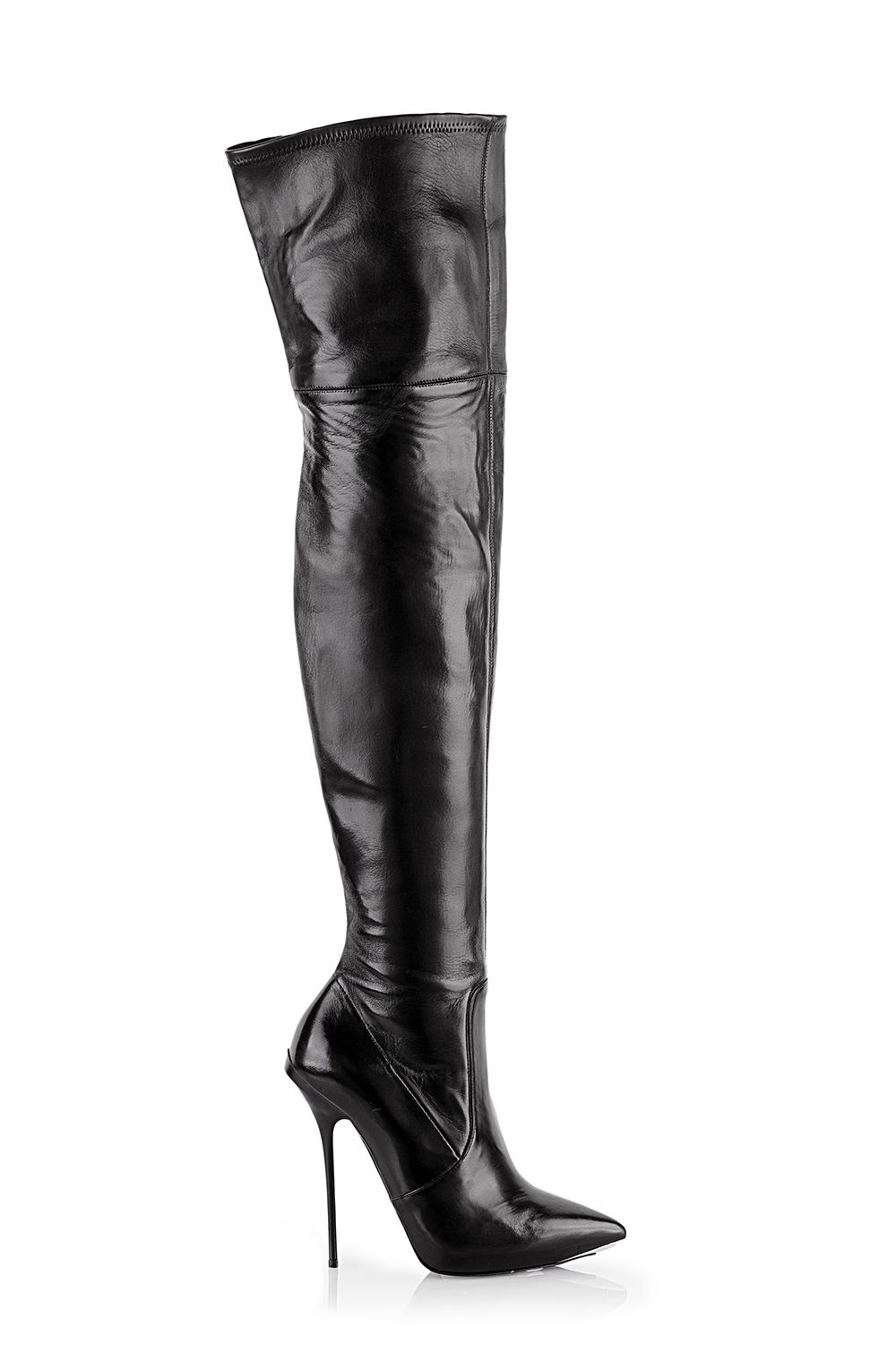 nappa stretch over knee boots 130 mm gianmarco lorenzi therapy rh pinterest com