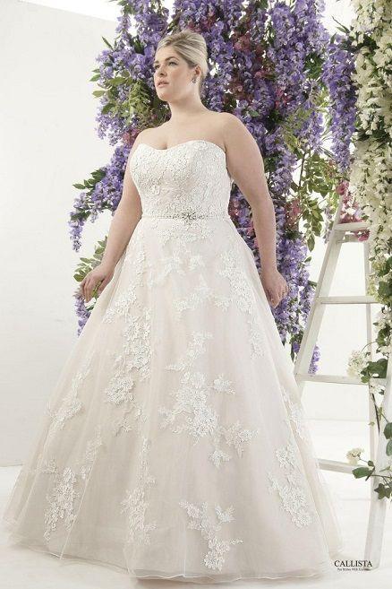London I Callista Plus Size Wedding Dresses: Prinzessin & Ball Gown ...
