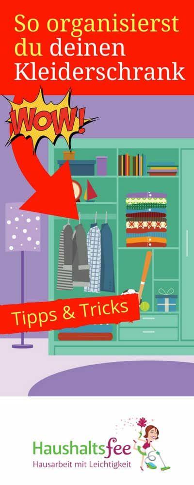 ordnung im kleiderschrank 6 geniale beispiele pinterest kleiderschr nke haushalte und aufr umen. Black Bedroom Furniture Sets. Home Design Ideas