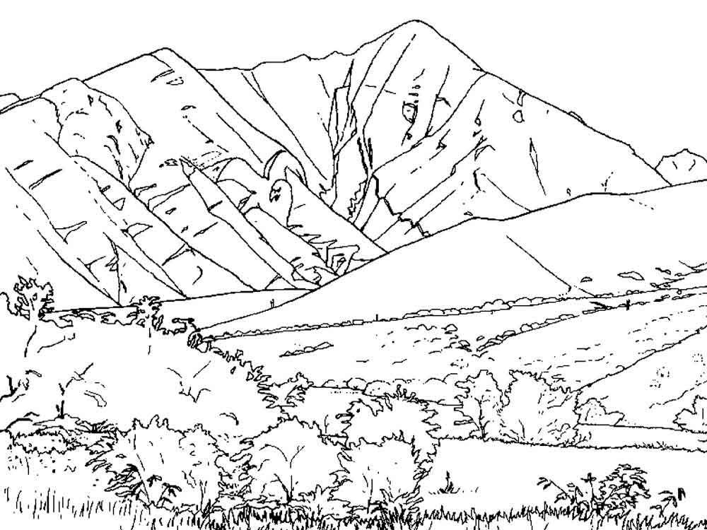 Mountains Coloring Pages Best Coloring Pages For Kids Coloring Pages Coloring Pages For Kids Puppy Coloring Pages