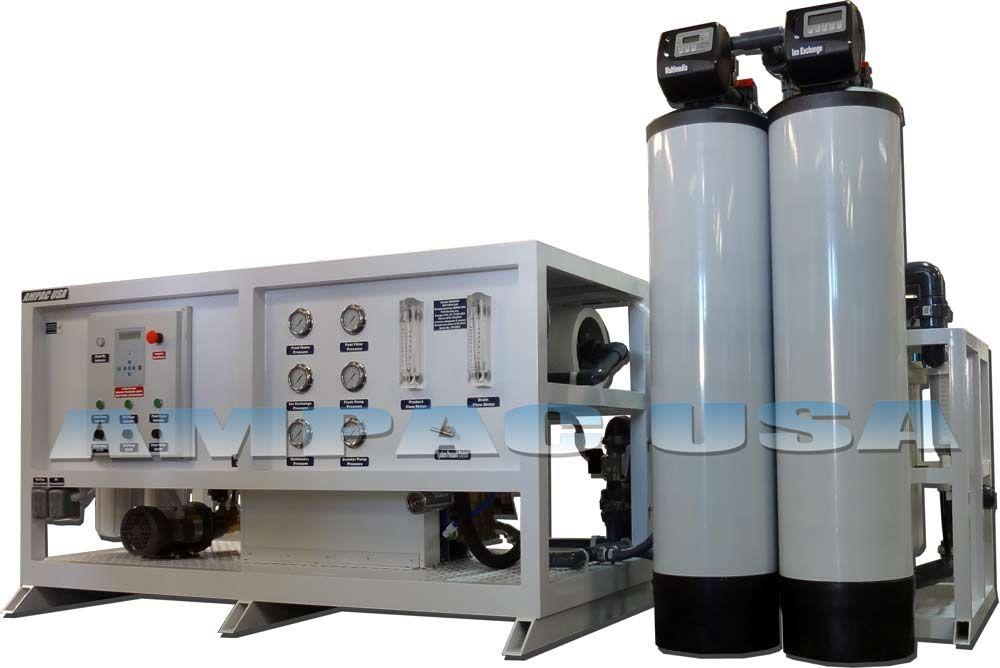 Ampac Usa Advanced Seawater Desalination Watermakers With Images Seawater Desalination Water Treatment Reverse Osmosis