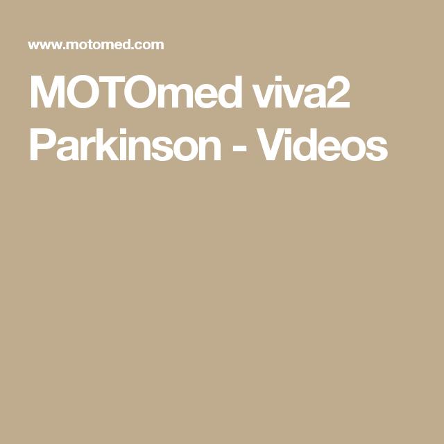 MOTOmed viva2 Parkinson - Videos