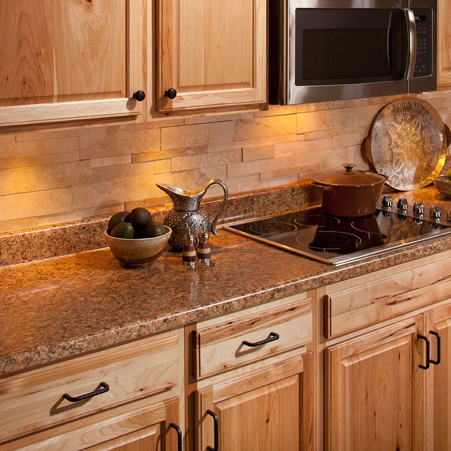 Shop VT Dimensions Wilsonart 8 Ft Milano Amber Quarry Straight Laminate Kitchen  Countertop At Lowes.com