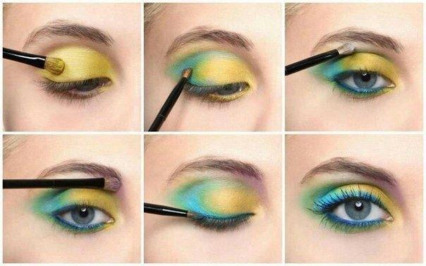 summer idea eye makeup