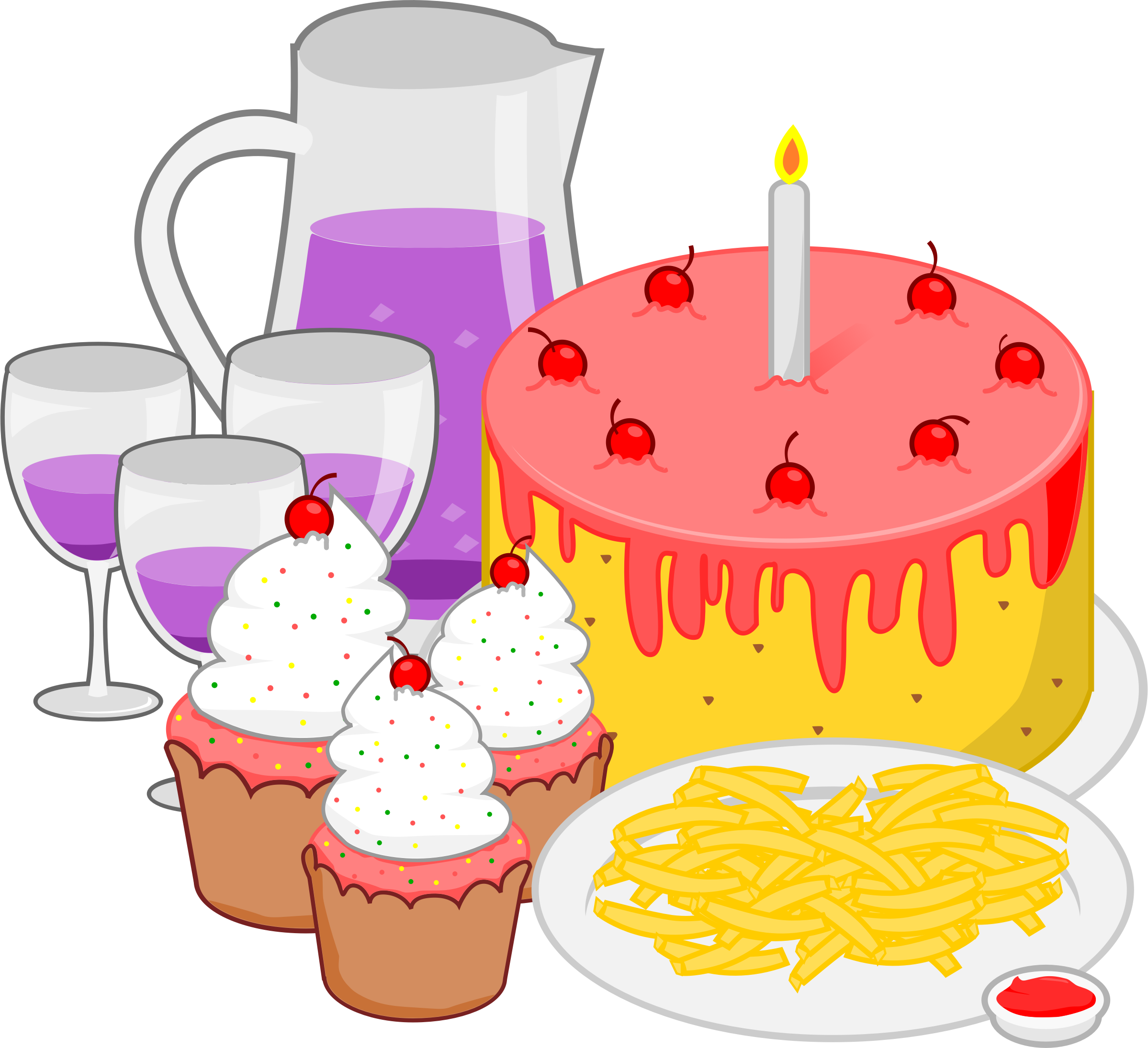 Image for Free Birthday Party Celebration High Resolution Clip Art ...