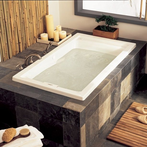 Massage Tubs Evolution 60 Inch By 32 Inch Deep Soak Everclean Whirlpool White Whirlpool Bathtub Whirlpool Tub Bathtub