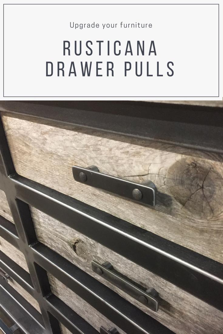 Dresser Handle Furniture Pull Iron Handle Cabinet Handle Etsy Rustic Cabinet Hardware Furniture Pulls Dresser Handles