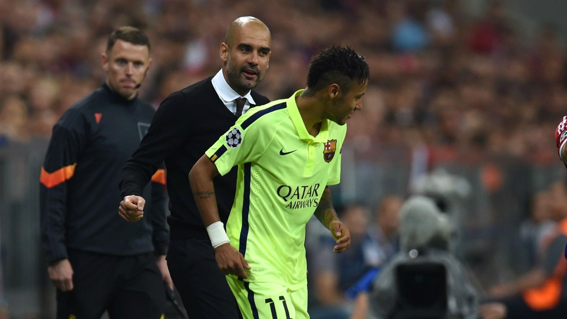 Neymar would already be world's best under Guardiola Dani