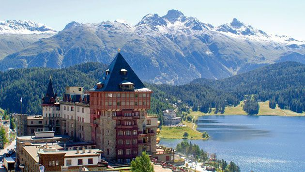 St Moritz Hotels And Resorts Luxury Resort Hotels Places In