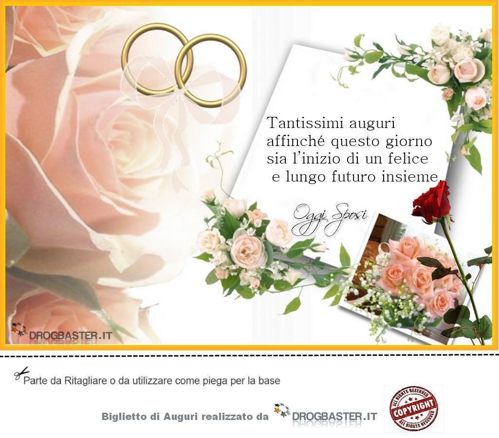 Bigliettino Matrimonio Con Anelli Rosa Biglietto Di Matrimonio Matrimonio Auguri Di Nozze