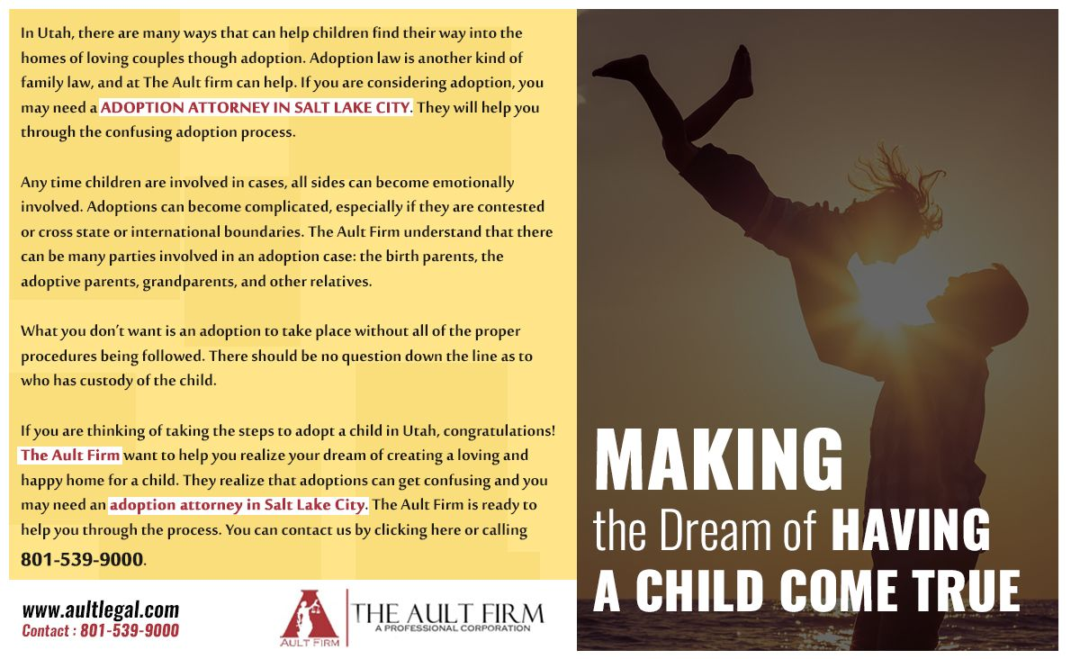 Salt Lake City Adoption Attorney Family law attorney
