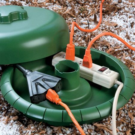 Use The Cord Dome To Protect Multiple Outdoor Electrical Connections This Electrical Outdoor Christmas Lights Outdoor Christmas Outdoor Christmas Decorations