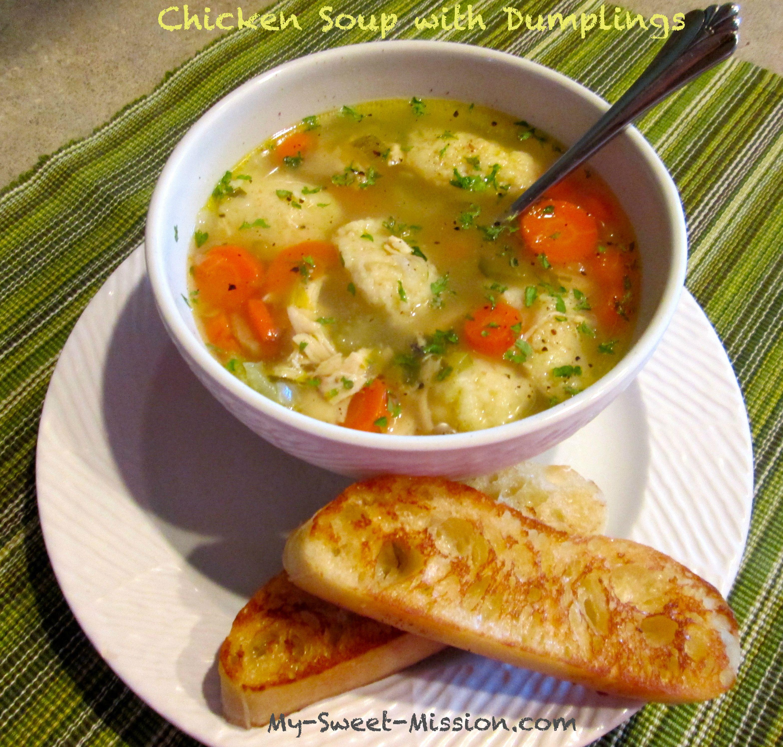 Chicken Dumpling Soup Recipe Hearty Soup Recipes Dumplings For Soup Chicken Dumpling Soup