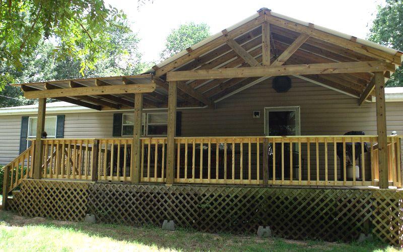 Mobile Home Porches & Decks Guide Mobile Home Repair
