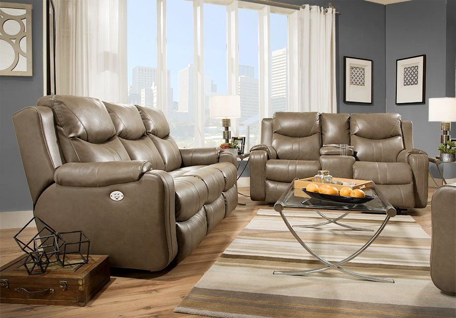 Marvel Reclining Console 881 28 Sofas From Southern Motion At