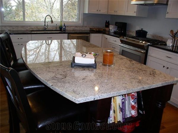 7 beautiful and multifunction granite top kitchen islands home ...