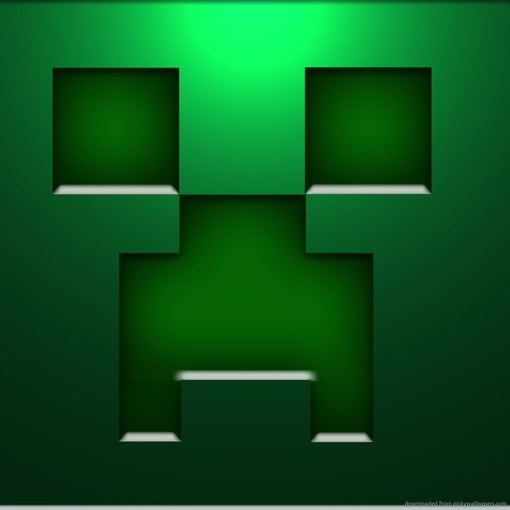 Minecraft Creeper Face Jpg 1024 1024 Minecraft Images Minecraft Wallpaper Cool Backgrounds Wallpapers