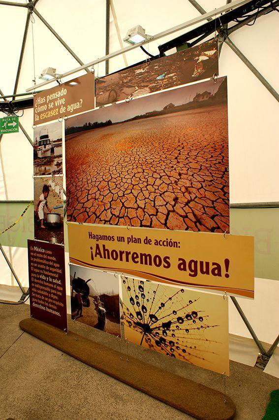 """Expo Bicentenario. AM contribuye con el diseño de la gráfica para el montaje para las biosferas: derechos de los niños, cuidado del agua y tecnología en el pabellón de los """"niños""""."""
