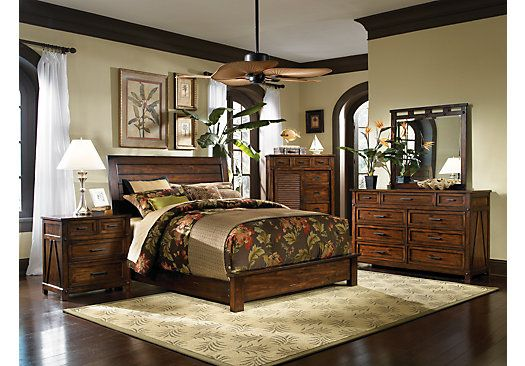 Shop For A Panama Jack Eco Jack Sleigh 5 Pc Queen Bedroom