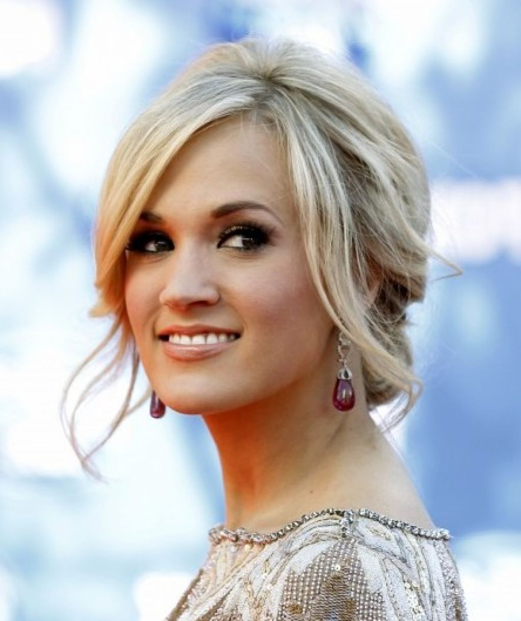 carrie underwood hair updos front