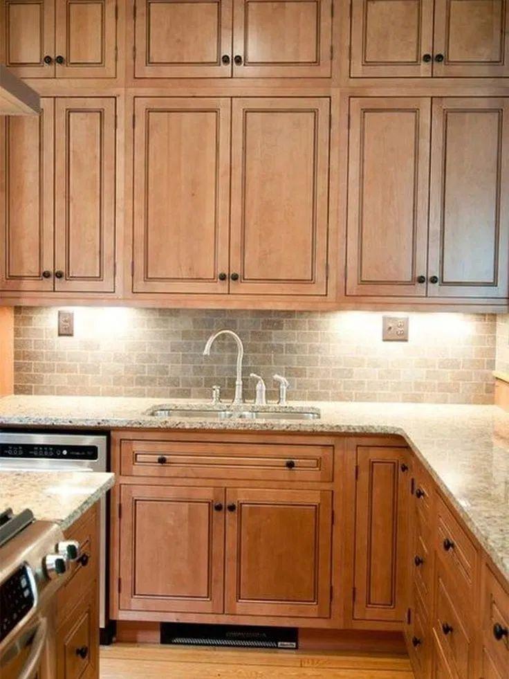 41 elegant rustic farmhouse kitchen cabinets ideas maple kitchen cabinets new kitchen on farmhouse kitchen maple cabinets id=91201