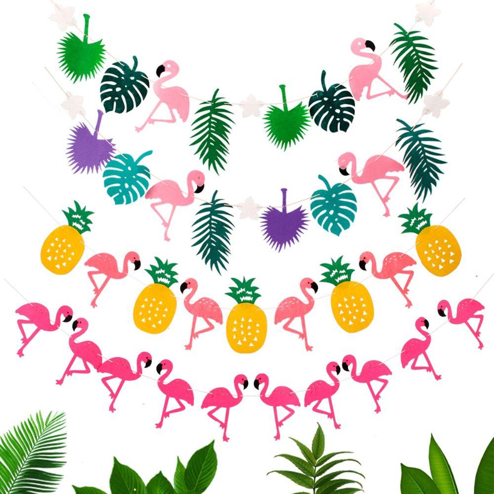 Pas Cher Fengrise Flamingo F Te D Coration Joyeux Anniversaire