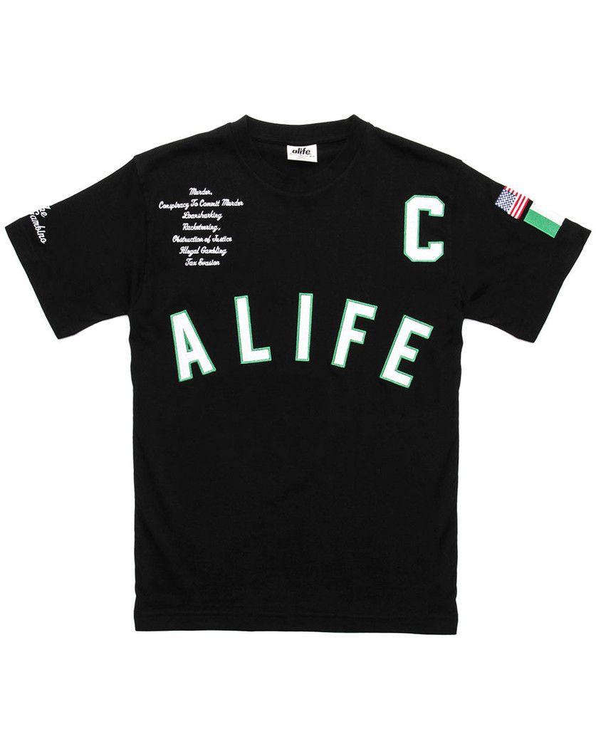 24349c71 Alife x Rick Ross - Teflon Don T-Shirt (Black)   New Arrivals - May 2015