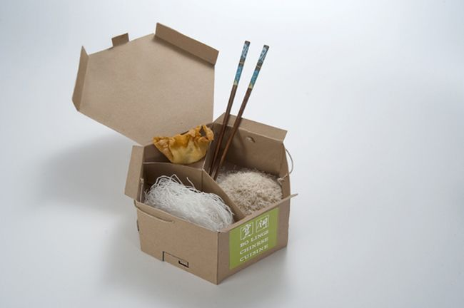 Eco Friendly Chinese Take Out Takeaway Packaging Food