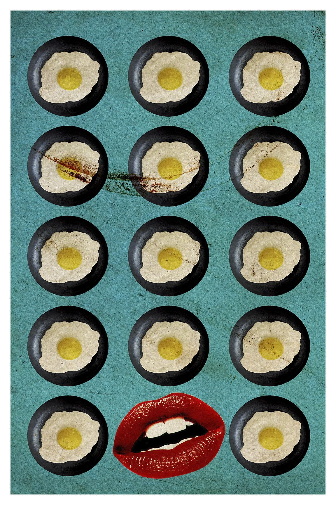 One Egg A Day by Elo Marc Graphic Art