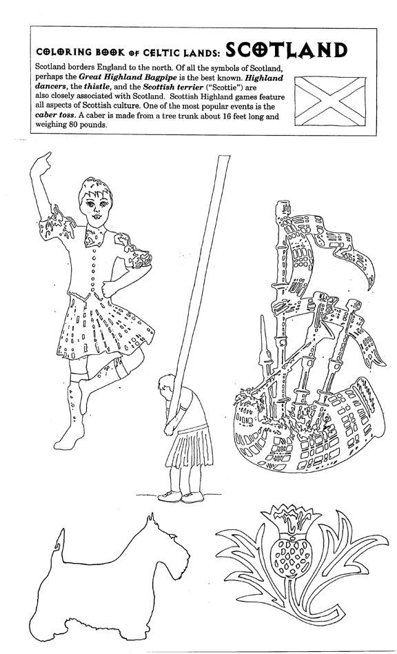 scotland colouring pages yahoo canada image search results