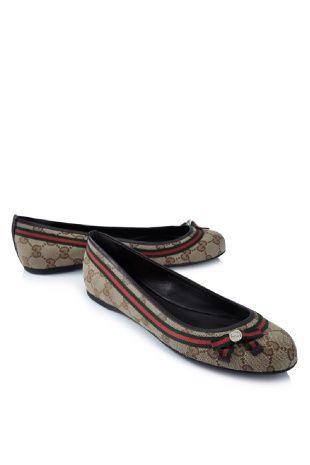 9a29d2b6cb13 Gucci Mayfair Ballerina Flats