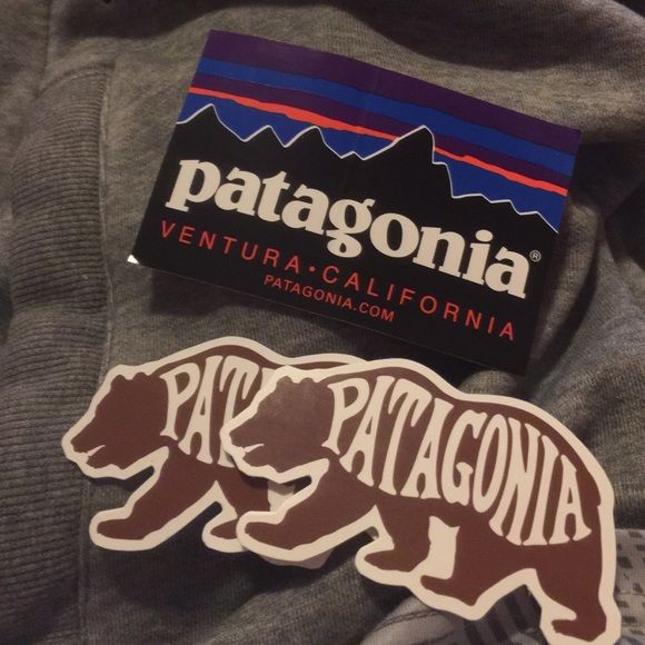 Patagonia stickers 5 each on appmercari free ship  Only one