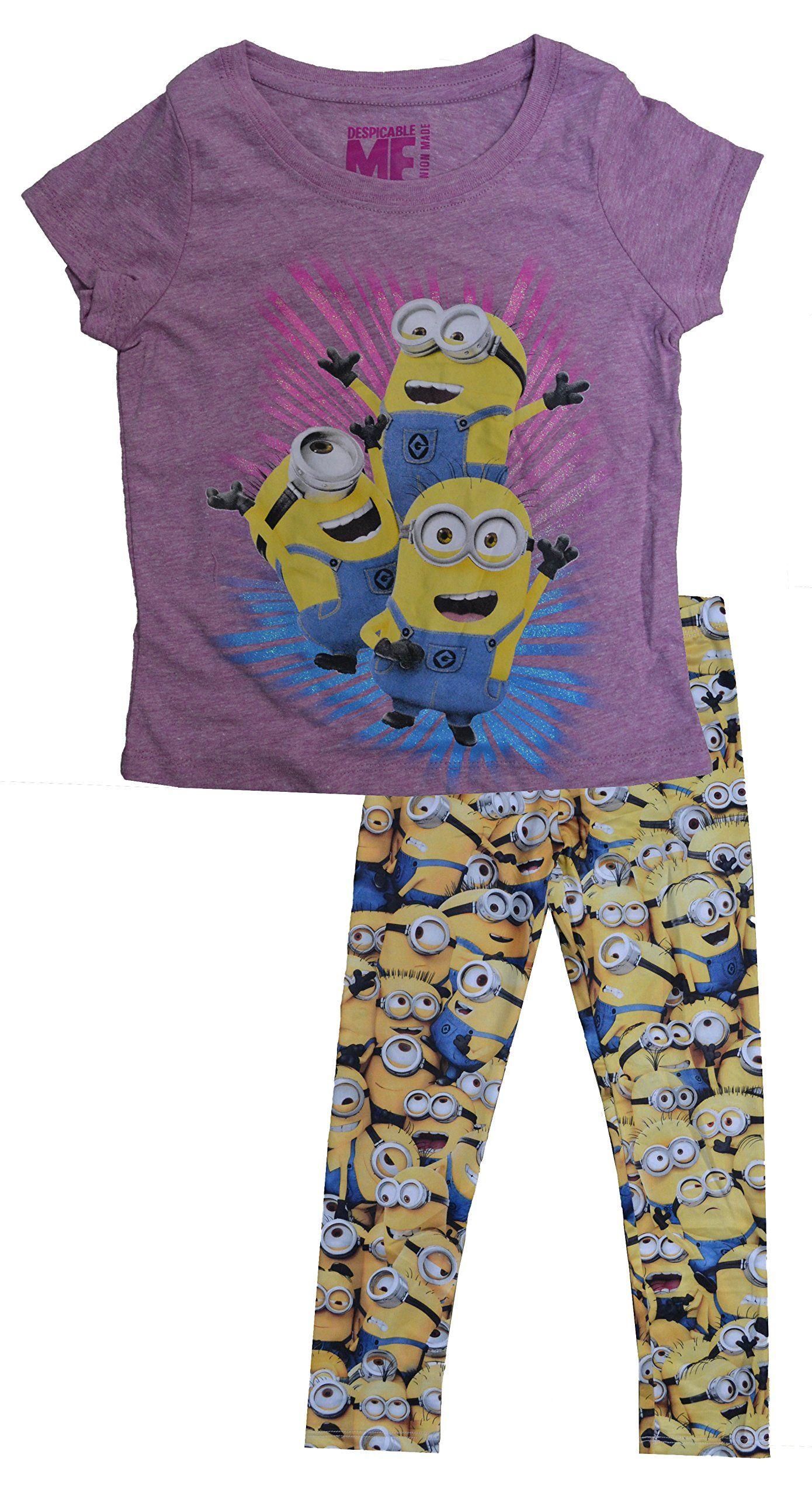 Despicable Me Toddler Boys Costume Puffer Vest /& Top Set Size 2T 3T 4T