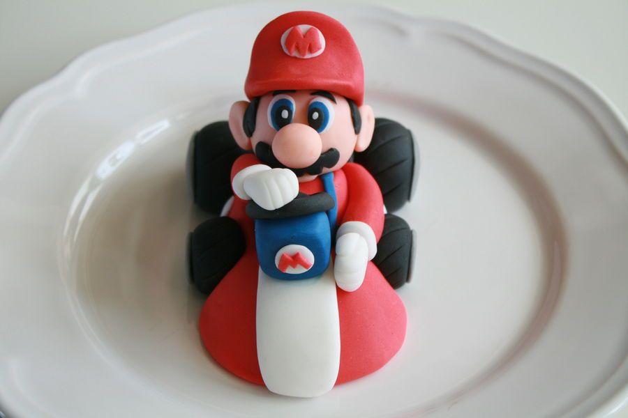 3D Fondant Mario Kart | Mario kart cake, Super mario cake ...