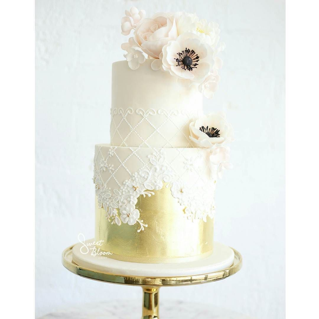 Our new sweet bloom cake design perfect for christenings and