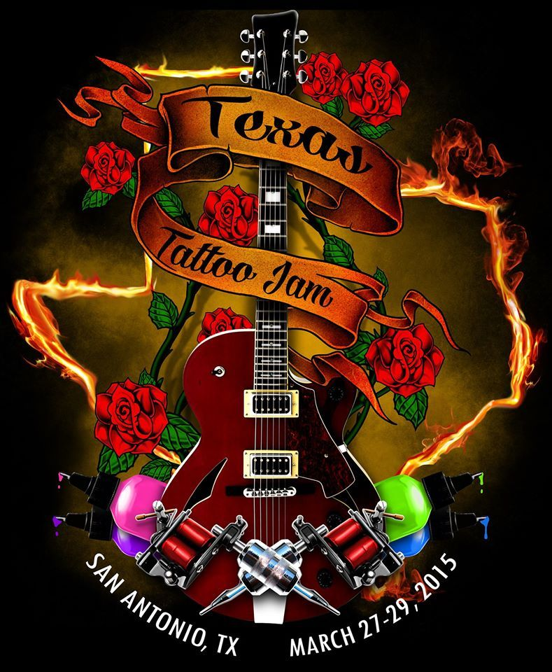 Texas Tattoo Jam 27 29 March 2015 See more on http
