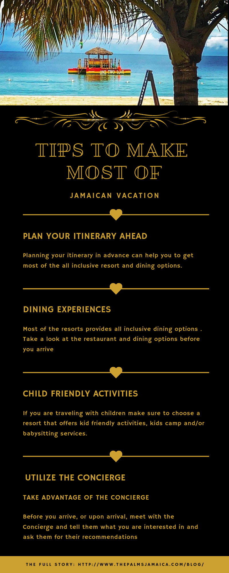 Top tips to plan your vacation to Jamaica  Utilize the