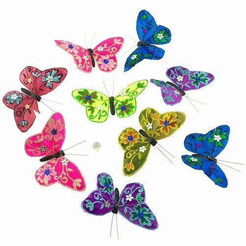 Medium - Mardi Gras Jewels Glitter