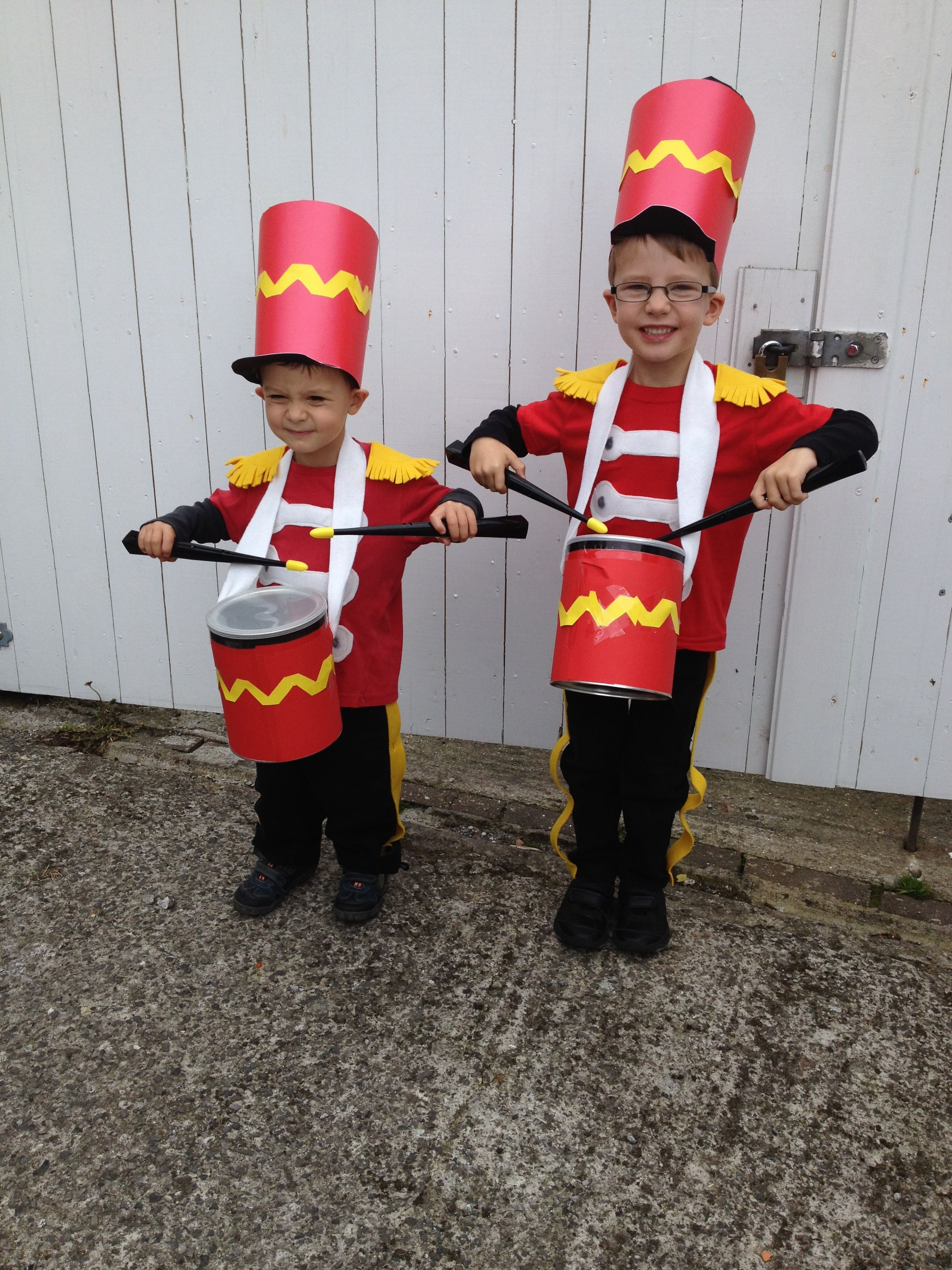 Fancy Dress Costumes Drummer Boys For Carnival Theme Halloween