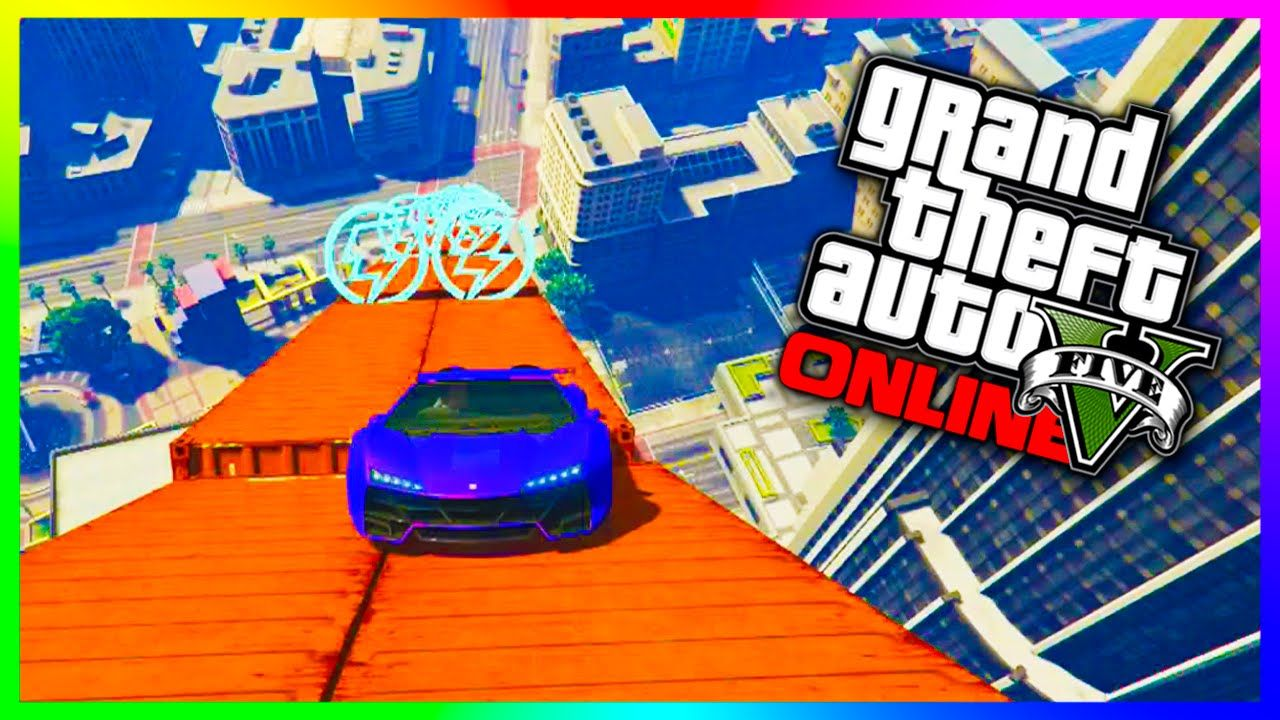 Gta 5 Online Maze Bank Mega Jump Biggest Jump Ever Gta 5 Ps4 Funny Moments Rockstar Games Rockstar Gta 5 Online