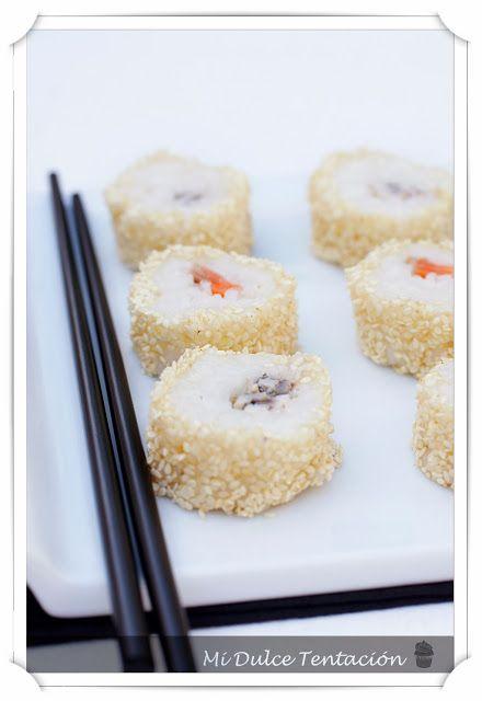 Mi dulce tentación: Sushi de Salmón Ahumado y Boquerones