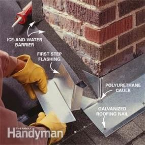 Installing Chimney Flashing Useful Stuff Toiture